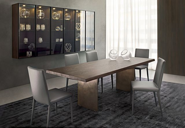 Table alfred olivieri praha for Table extensible kristalia